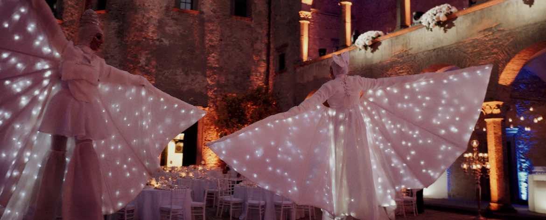 Trampolieri castello di Bracciano