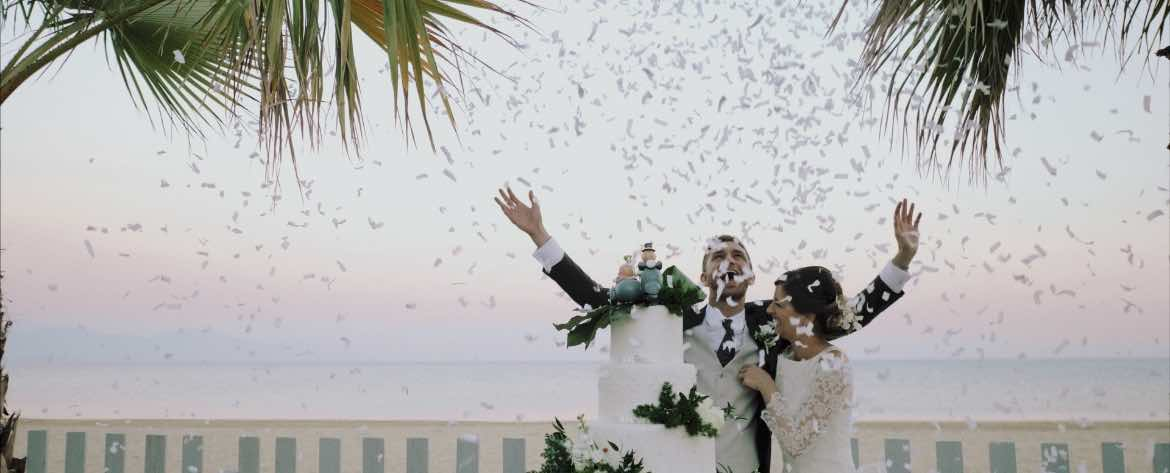 Wedding at Grappolo d'uva Terracina