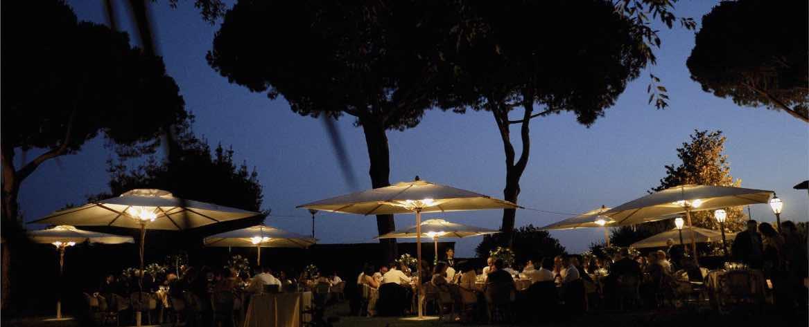 cena villa dei Quintili