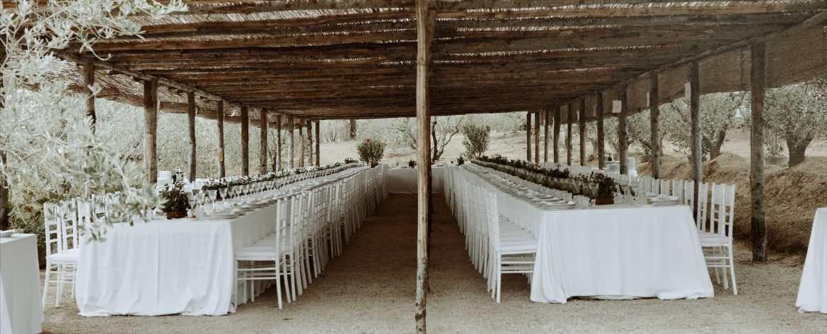 Allestimenti Matrimonio toscana
