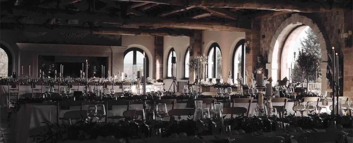 Tenuta di Ripolo Palazzo delle feste matrimonio inverno