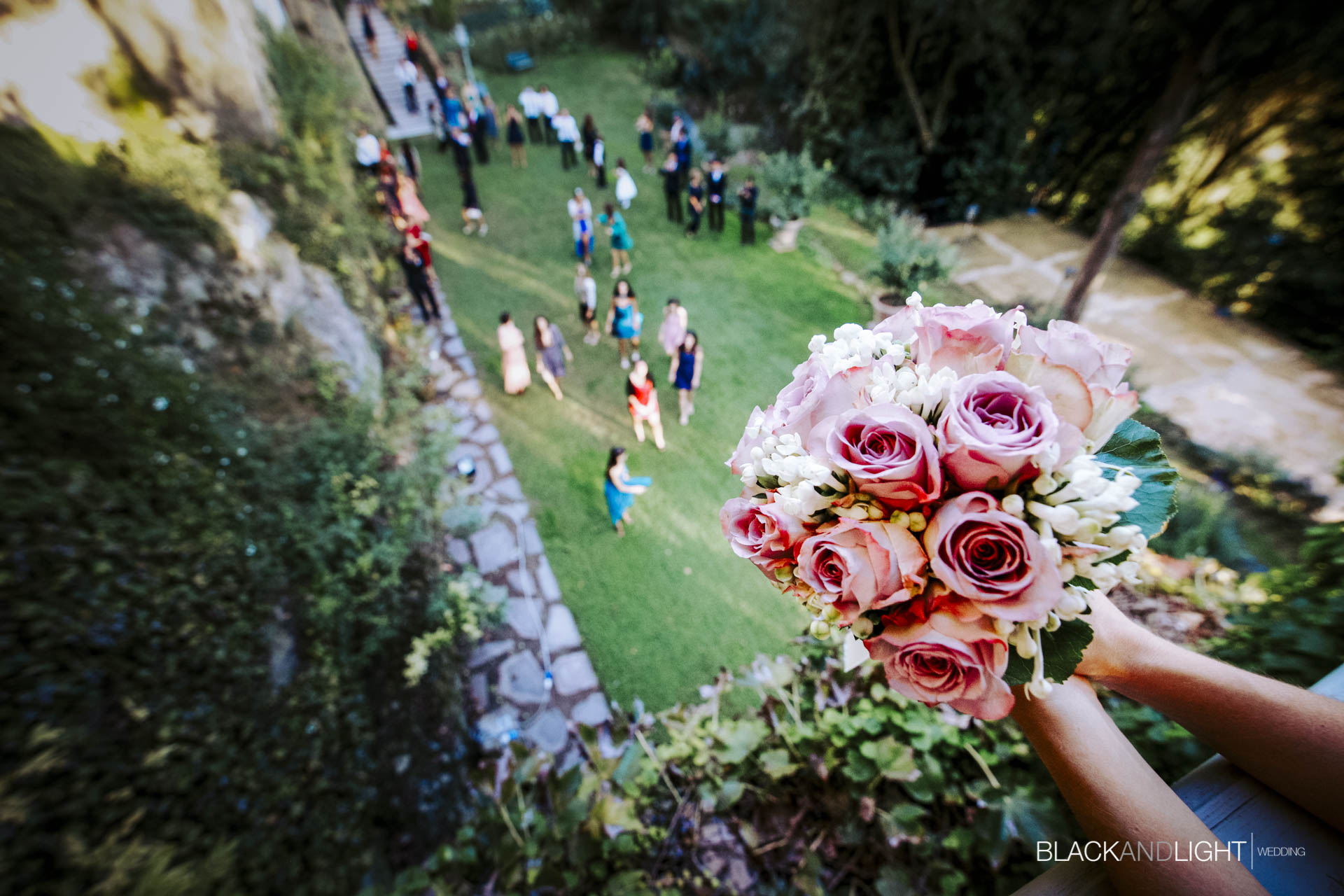 Lancio del Bouquet