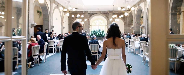 Matrimonio Invernale a Sorrento Grand Hotel Cocumella