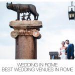 Wedding in Rome | Best Wedding Venues in Rome