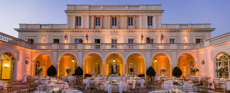 Wedding in Rome Villa Miani