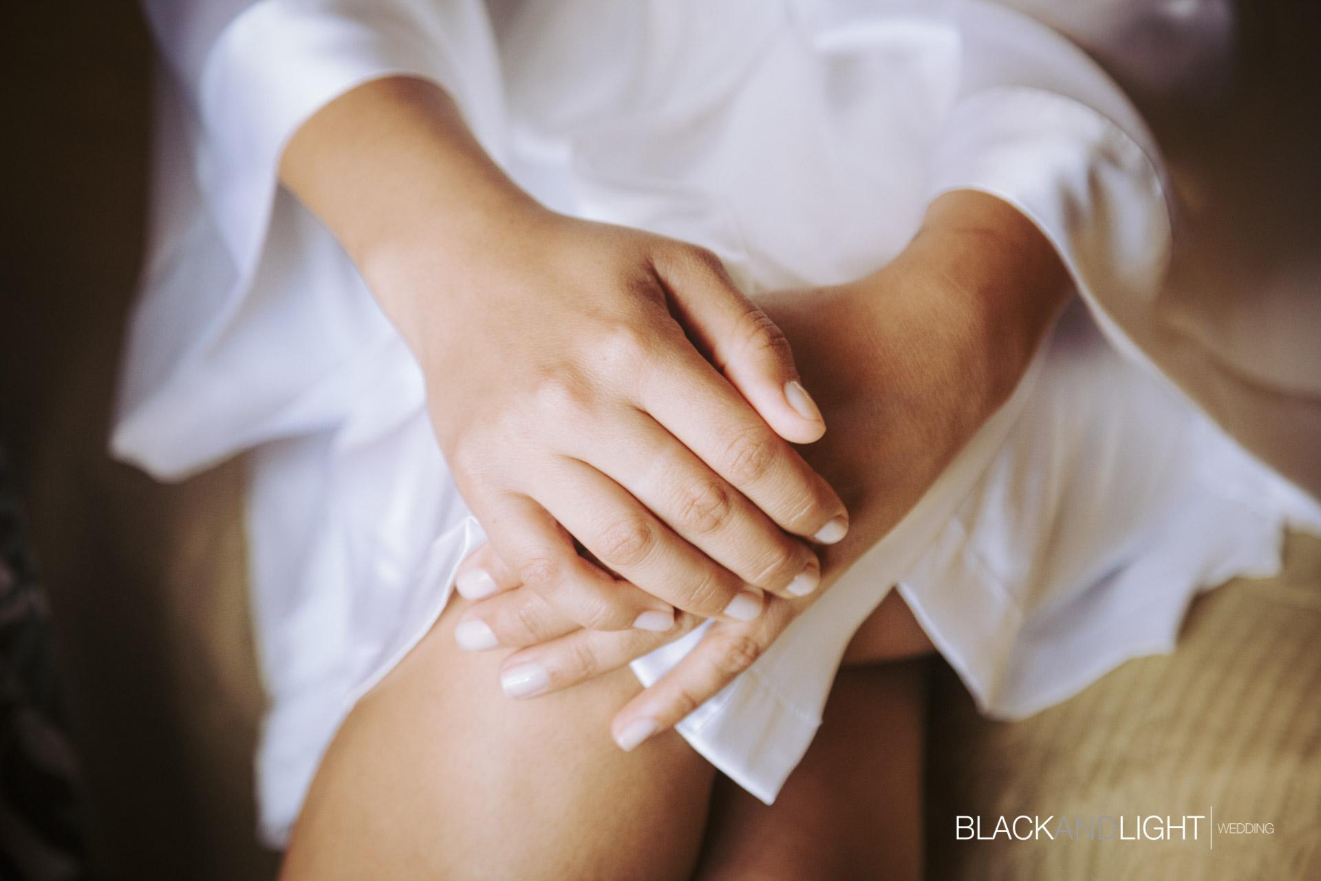 Dettaglio Mani Sposa