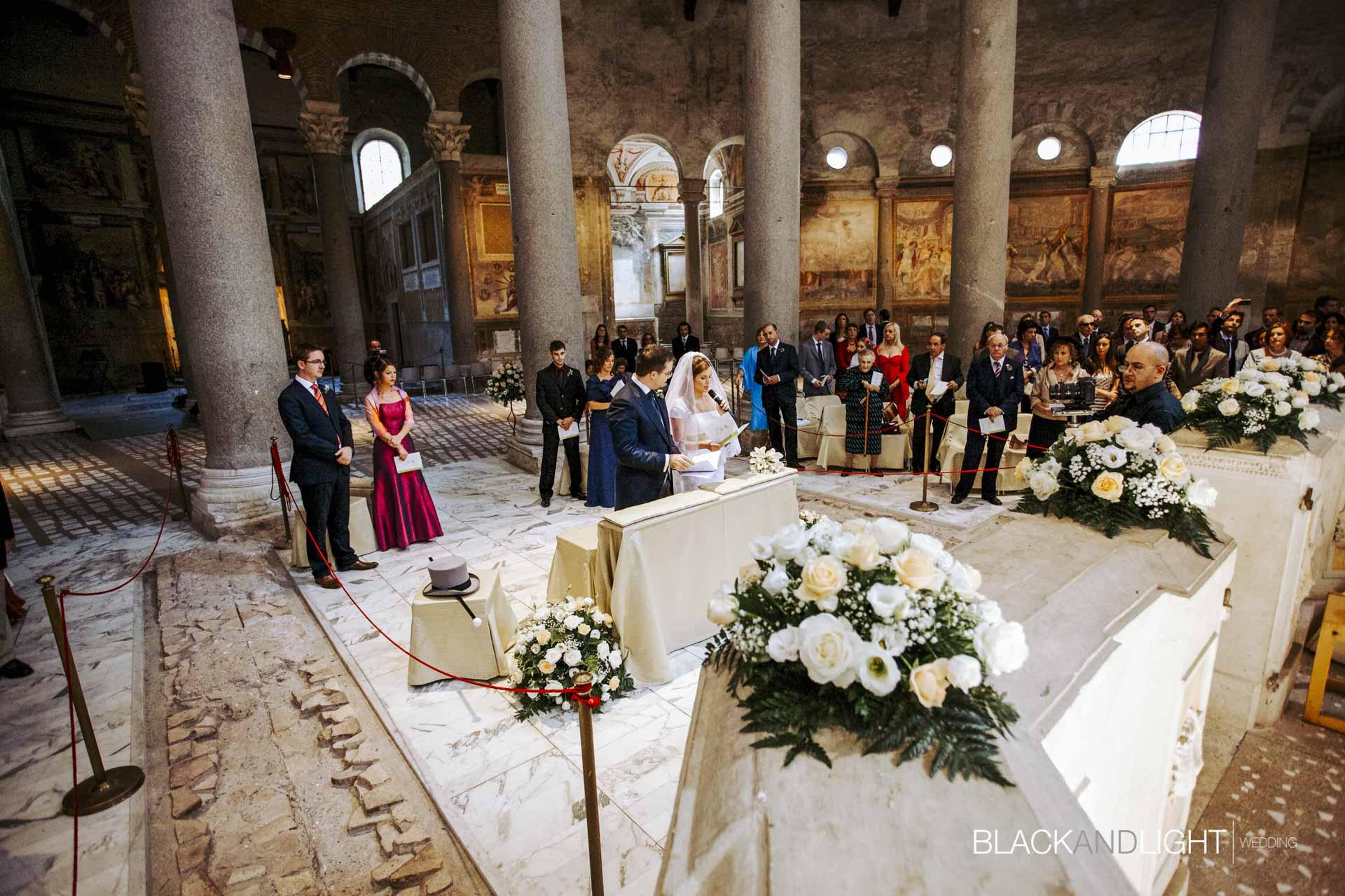 Matrimonio Santo Stefano Rotondo