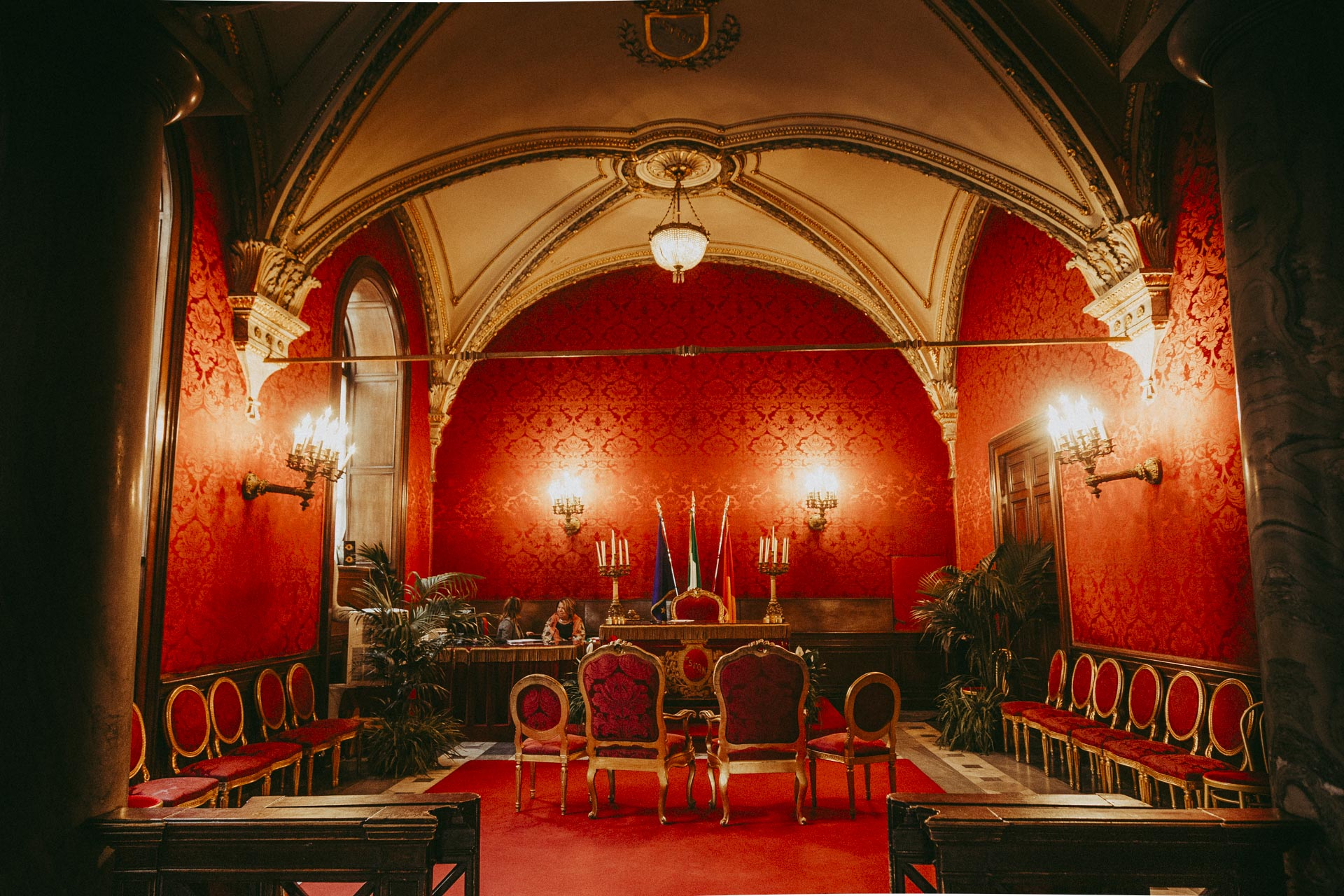 Red Room in Campidoglio