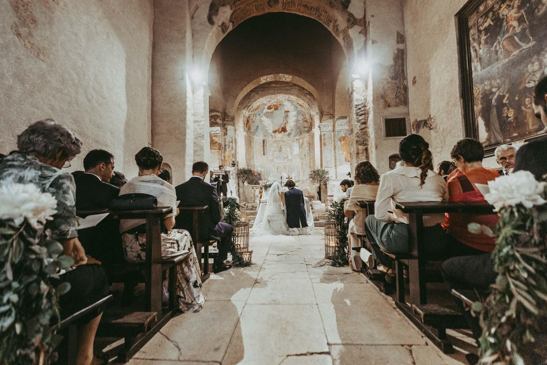 Wedding San Pietro in Valle Abbey