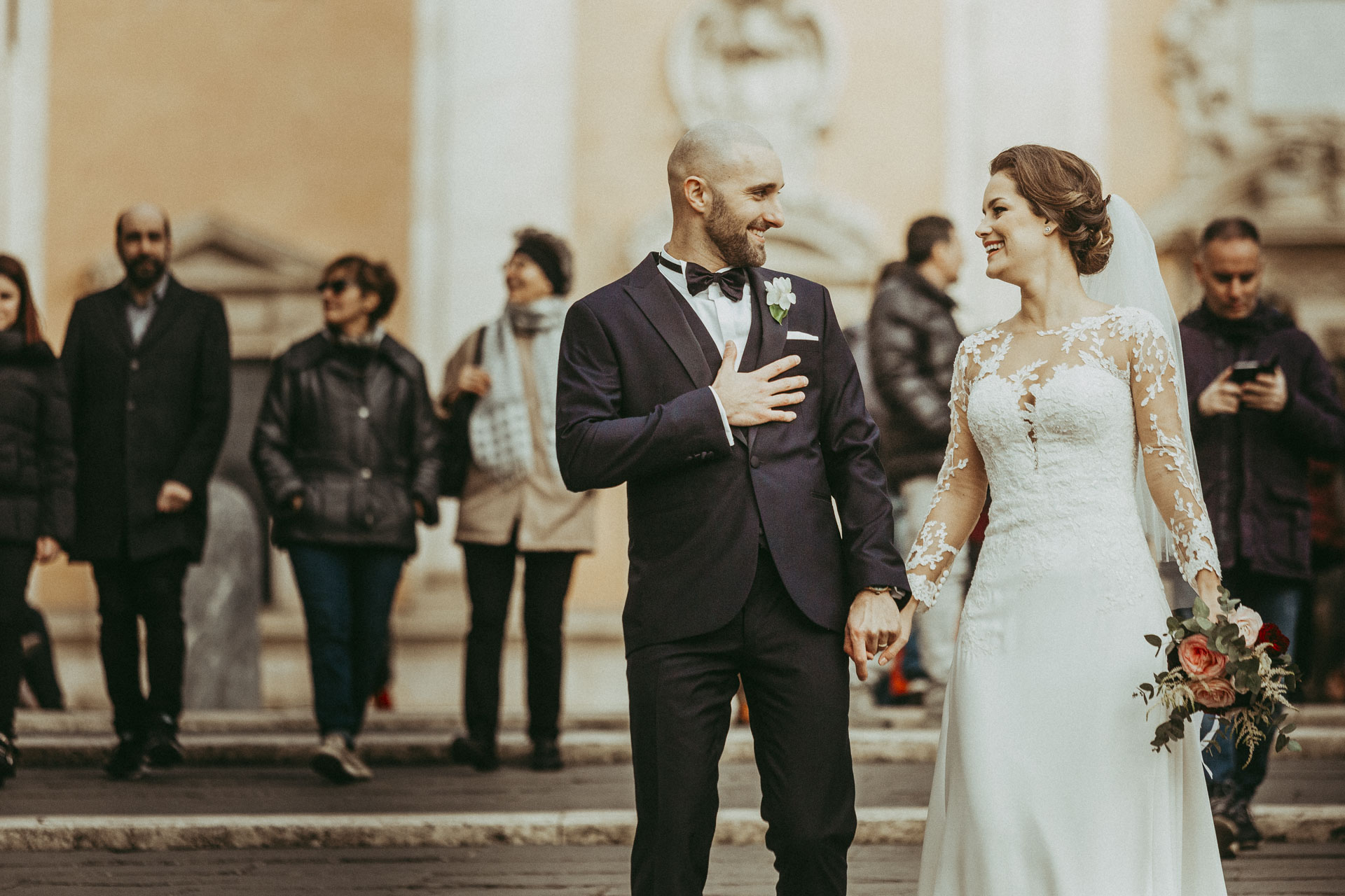 Wedding in Campidoglio, Hotel Forum