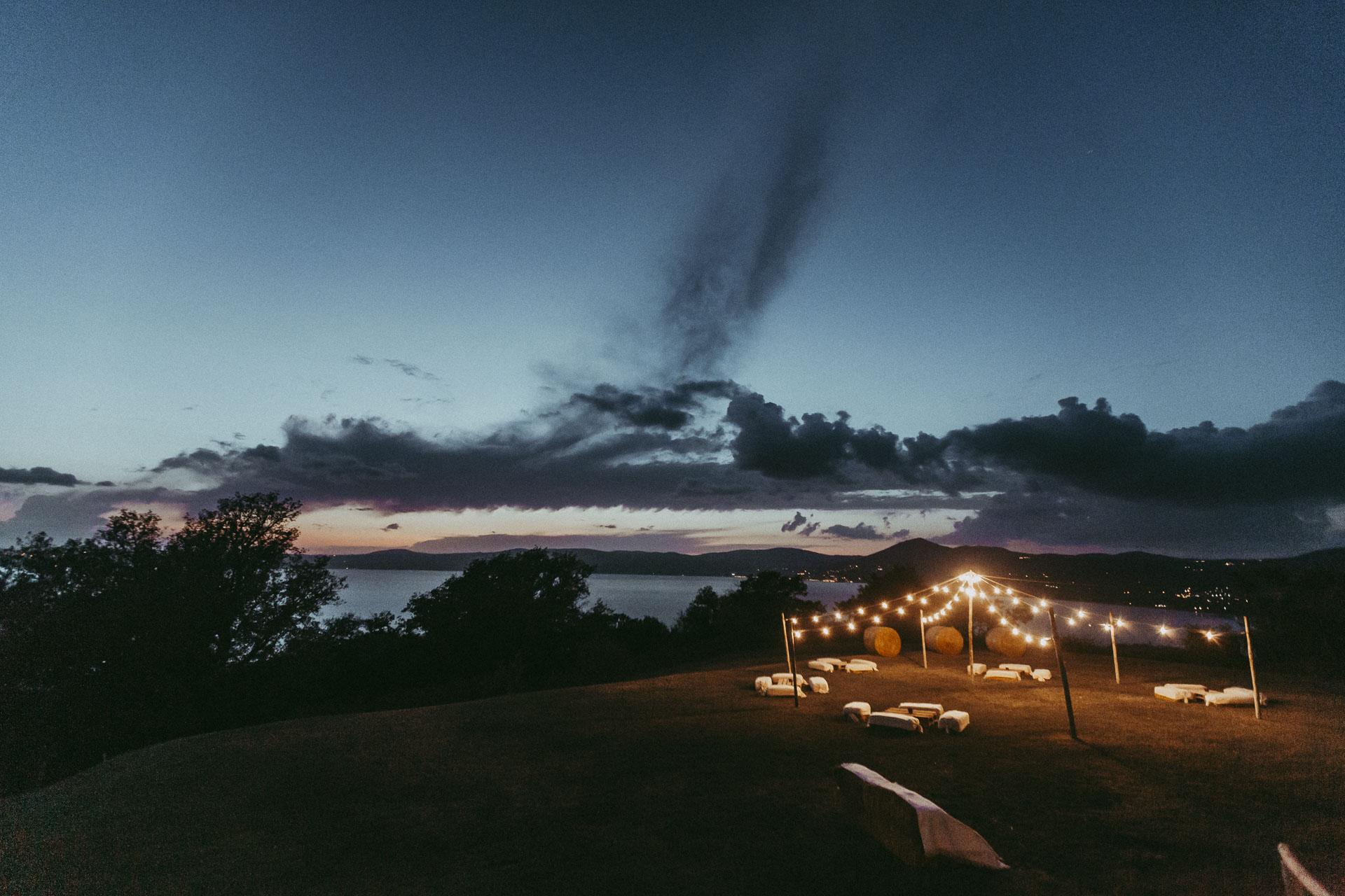 Veduta Lago di Bracciano