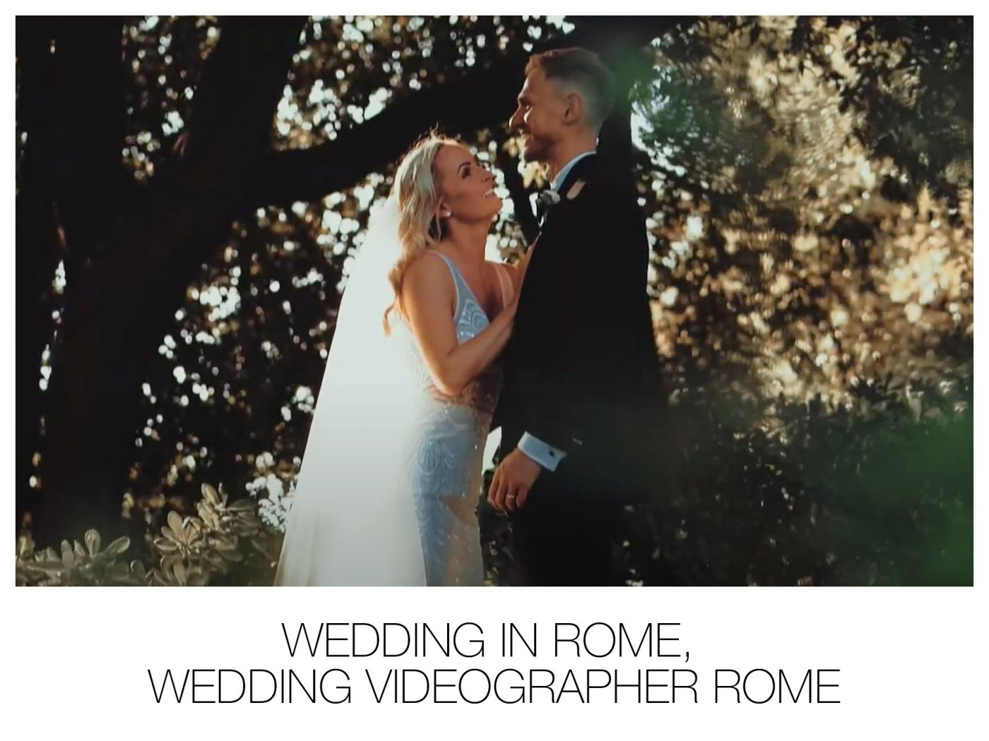 Wedding in Rome, Wedding Videographer Rome.