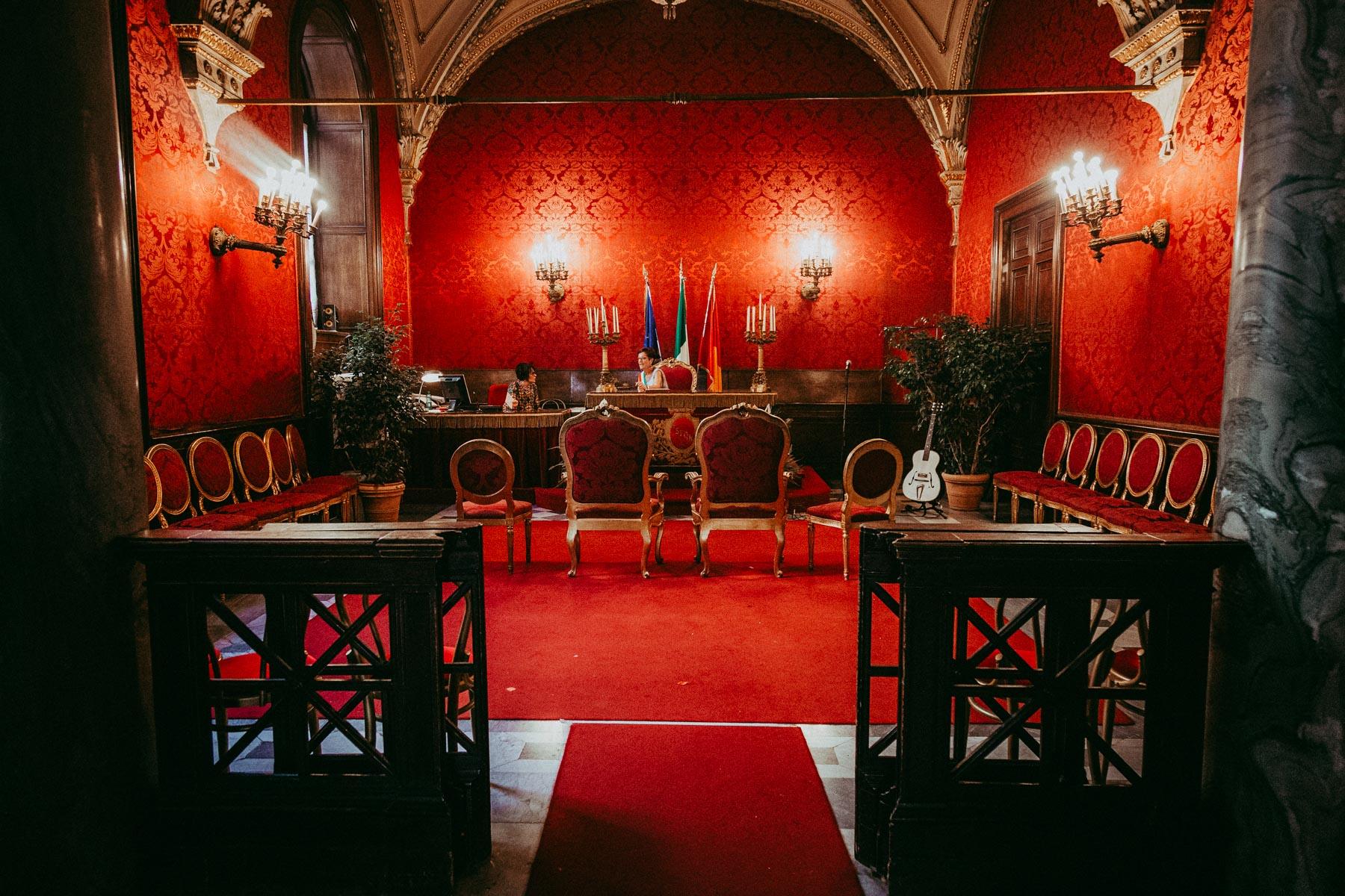 Sala Rossa al Campidoglio