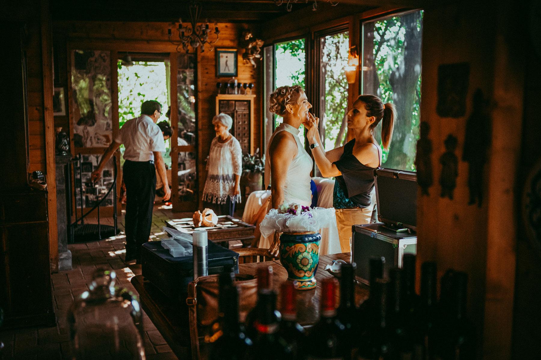 Preparazione Sposa