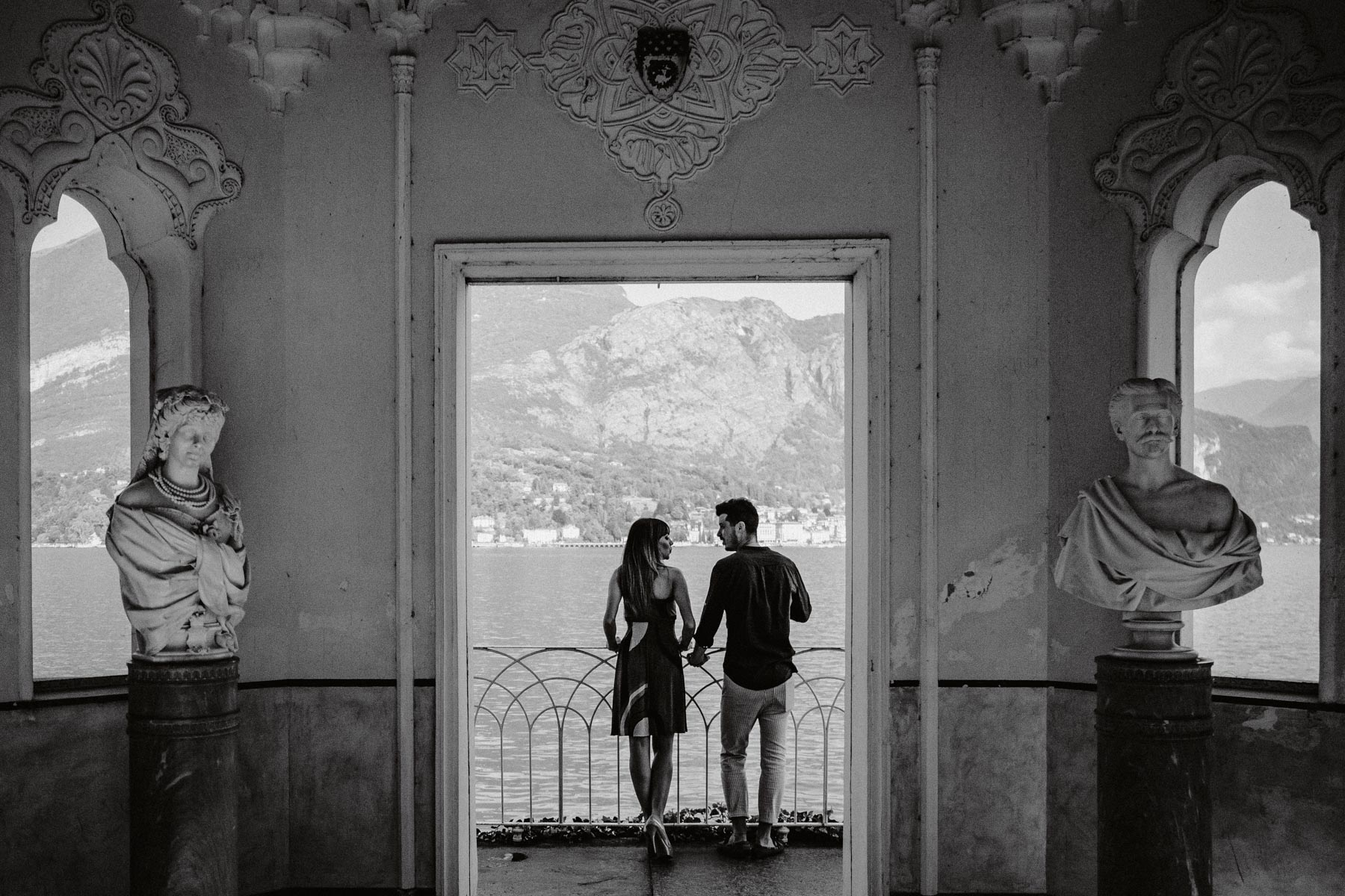 Servizio Fotografico Prematrimoniale sul Lago di Como