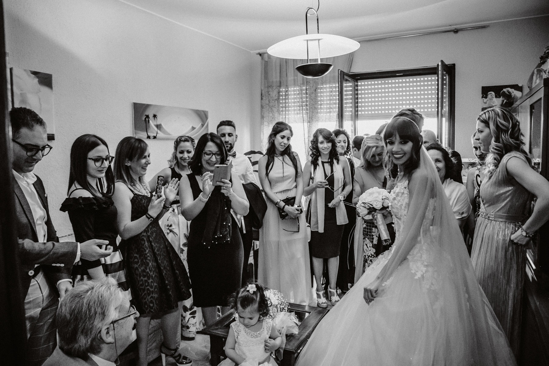 Preparazione Sposa, Matrimonio lago d'Iseo