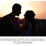 Matrimonio Istituto Nazionale Studi Romani